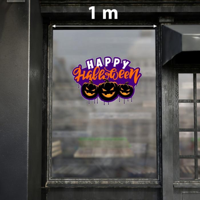 Decal dán tường Decal happy halloween 2