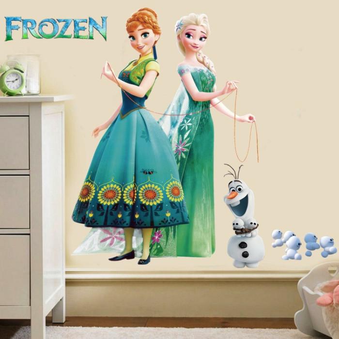 Decal dán tường FROZEN - Công chúa