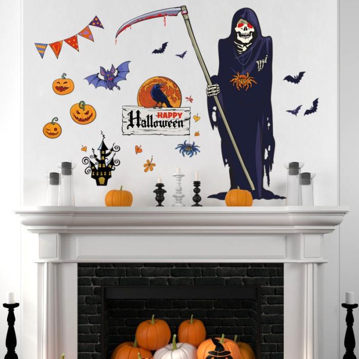 Decal dán tường Halloween 13