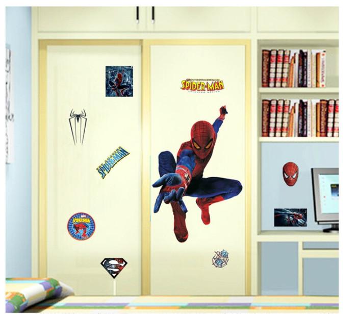 Decal dán tường Người nhện 5 - Spider man 5