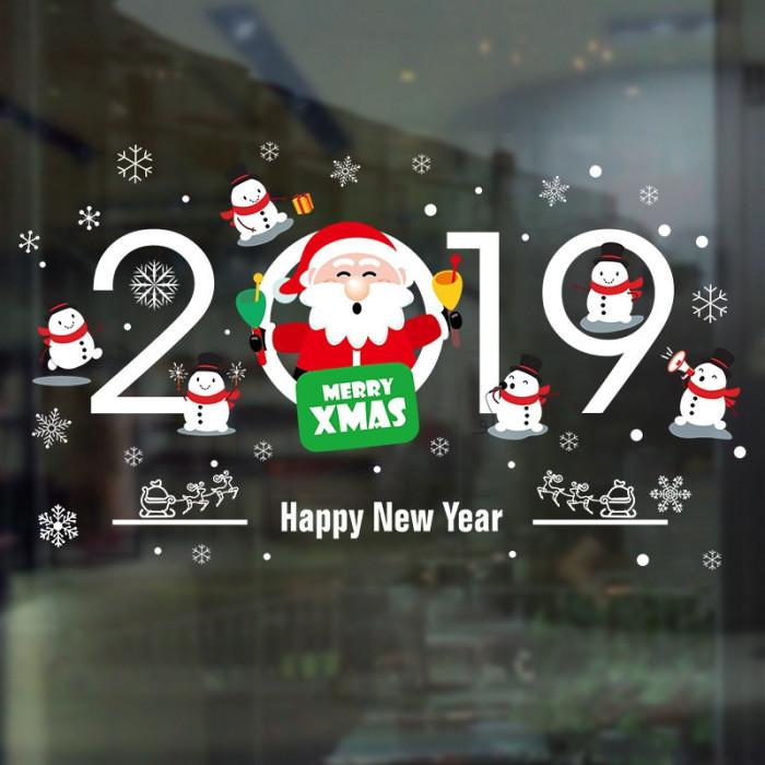 Decal dán tường Noel 65 -Noel 2019