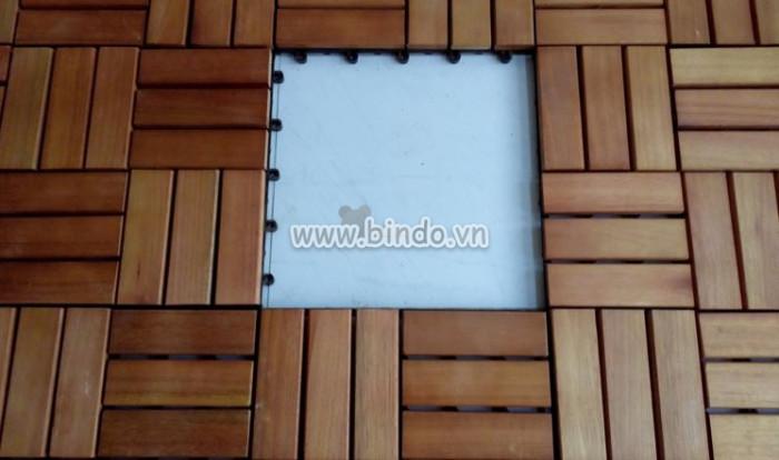 Sàn gỗ ban công IKEA 3