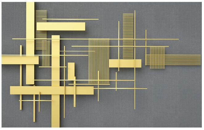 Tranh họa tiết trang trí tường 3D số 3