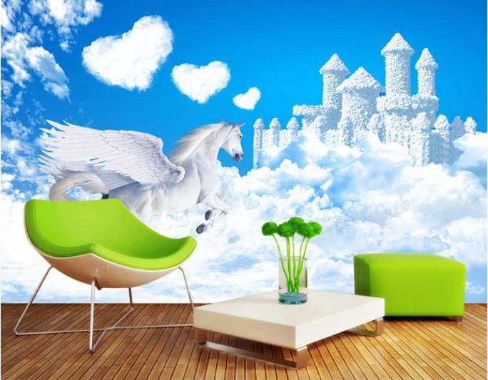 Tranh lâu đài trên mây