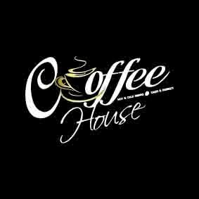 Tranh nhãn hiệu coffee