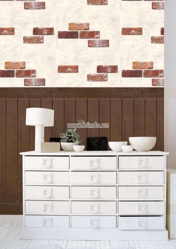 Xốp giả gỗ hàn quốc walnut (100x30)