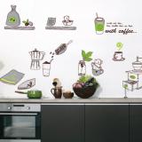 Decal dán tường   Decal dụng cụ bếp 2