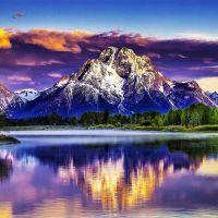 Tranh thiên nhiên thành phố du lịch
