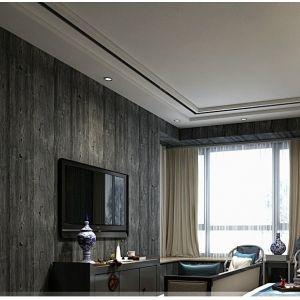 Giấy dán tường 3d vân gỗ xám đen