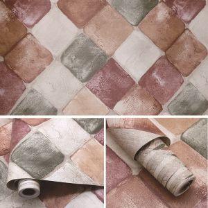 Giấy decal cuộn gạch sắc màu