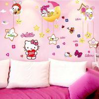Decal dán tường Hello Kitty 16