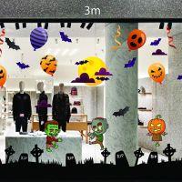 Decal dán tường Decal trang trí Halloween số 36
