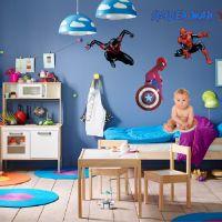 Decal dán tường Người Nhện (Spiderman) Số 1