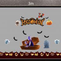 Decal dán tường Decal trang trí Halloween số 39