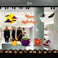 Decal dán tường Decal trang trí Halloween số 25