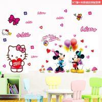 Decal dán tường Hello Kitty 23