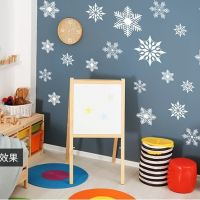 Decal dán tường Noel 109 - Bông tuyết mới 2