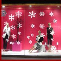 Decal dán tường Noel 113 - Bông tuyết mới 3