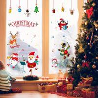 Decal dán tường Noel 56 - Dàn nhạc noel
