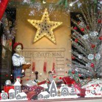 Decal dán tường Noel 78 -Những ngôi nhà tuyết phủ