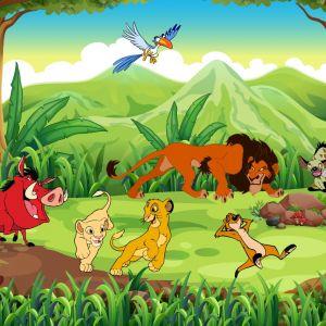 Tranh 3D vua sư tử và những người bạn (Lion King) số 4