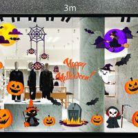 Decal dán tường Decal trang trí Halloween số 23
