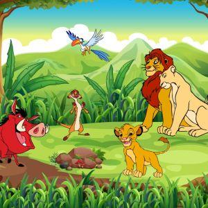 Tranh 3D vua sư tử và những người bạn (Lion King) số 6