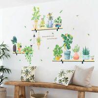 Decal dán tường Cây xanh trang trí 4