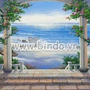 Tranh vẽ cảnh biển