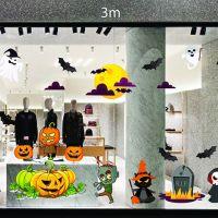 Decal dán tường Decal trang trí Halloween số 22