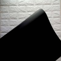 Decal dán tường Decal cuộn đen nhám