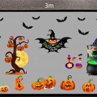 Decal dán tường Decal trang trí Halloween số 42