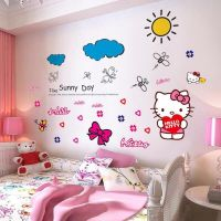 Decal dán tường Hello Kitty 24