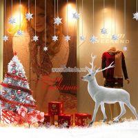 Decal dán tường Noel 24