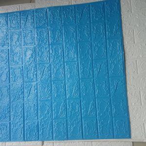xốp dán tường xanh dương dày 4mm (70cm x 77cm)
