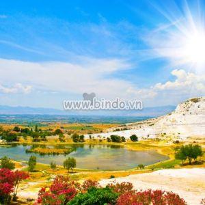 Tranh cảnh Pamukkale, Thổ Nhĩ Kỳ