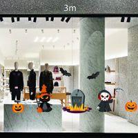 Decal dán tường Decal trang trí Halloween số 31