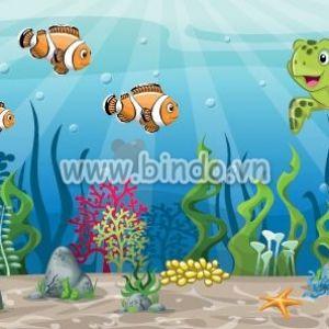 Lòng đại dương và chú rùa dể thương