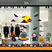 Decal dán tường Decal trang trí Halloween số 28
