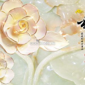 tranh ngọc hoa hồng