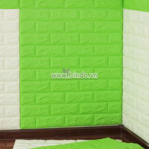 Decal dán tường Xốp dán tường màu xanh lá (4mm)