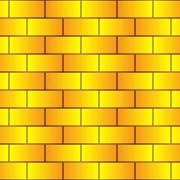 Tranh dán tường gạch vàng 3D