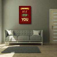Decal dán tường Decal Slogan trang trí văn phong 1