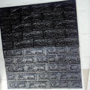 Xốp dán tường đen dày 4mm (70cm x 77cm)