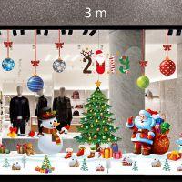 Decal dán tường Trang trí Noel Combo Số 12