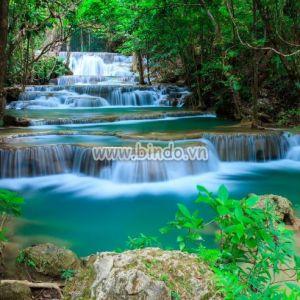 Tranh thác nước Huay Mae Kamin Kanjanaburi Thái Lan