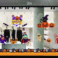 Decal dán tường Decal trang trí Halloween số 27