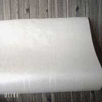 Decal dán tường Hoa tiết sọc trắng kem