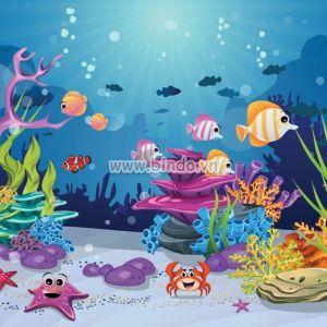 Lòng đại dương và chú cua đáng yêu
