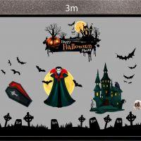 Decal dán tường Decal trang trí Halloween số 40